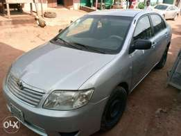 A very clear used Corolla 2004