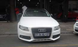 Audi A4 1.8T white in color 2011 model automatic 126000km R150000