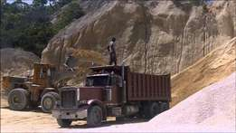 Construction, building materials & Supply services of Quarry products.