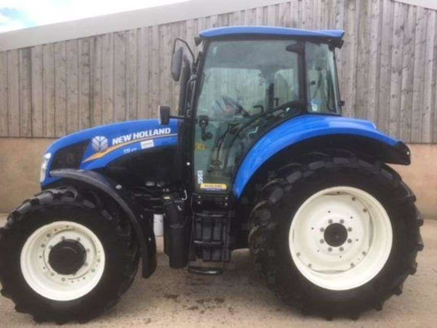 New Holland t5.105 deluxe - 2013