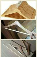 pay upon delivery mahogany hangers available in kenya- large supply