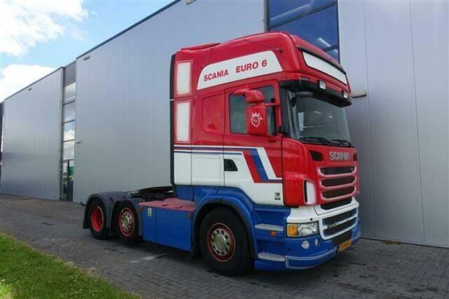 Scania R480 6X2 EURO 6 DUTCH REGISTRATION STEERING AXL - 2012
