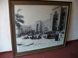 Framed print of Palace Hotel in Cairo