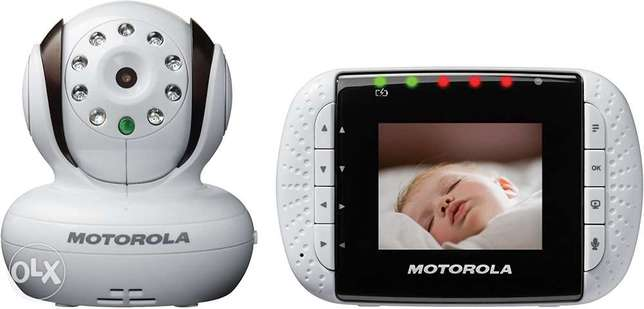 Motorola MBP33 Wireless Video Baby Monitor with Infrared Night Vision