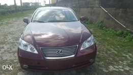 Lexus es 350 tokunbo 2008 model for fast sell