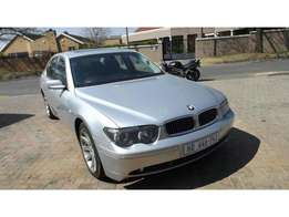 2003 Bmw 730 D E65 in good condition