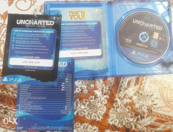 Uncharted 5 Lost Legacy (buy, finish & sell or keep + delivery) Nairobi CBD - image 3