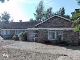 Four bedroom bungalow for rent in Mogas Ngong