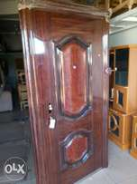 Imported steel doors
