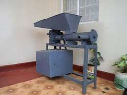 Brand new Charcoal Briquette Machine (Makes Charcoal) ksh. 68,000