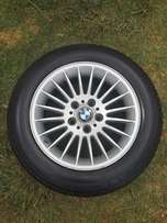 BMW 740 i mags & tyres