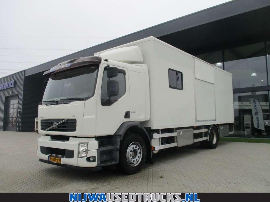 Volvo FE S 280 Mobiele werkplaats + 85 Kva aggregaat - 2006