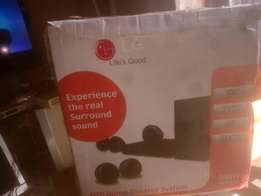 LG home theater (Available in shop)