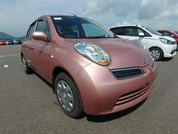 Nissan March Pink