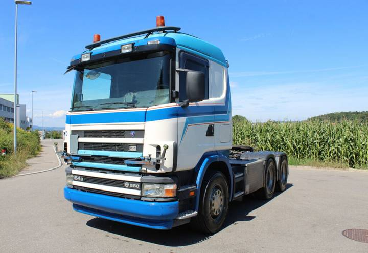 Scania ANDERE  R164 GA 6x4 tractor unit - 2004