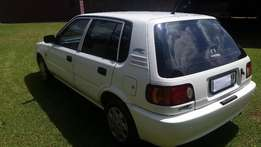 Toyota Tazz with air-con for sale Lady owner