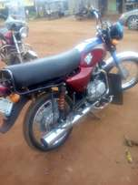 Very good neat fairly used 2016 Bajaj motocylicle
