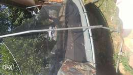 Trampoline: 16ft with a net