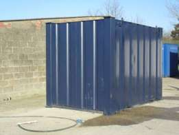 12ft x 8ft Steel Store for Hire (Suitable for Stacking)