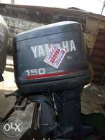 two 150 Yamaha engine for sale that is equivalent to 200hp