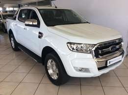 2016 Ford Ranger 3.2 TDCI XLT A/T D/C For only R439995