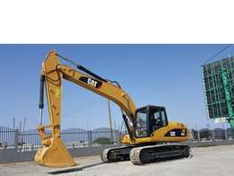 Caterpillar 320CL, Cab with airconditioning, 6 cylinder turbocharged C