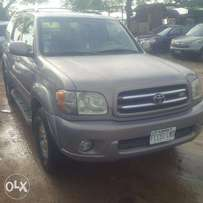 Nigerian Used Toyota Sequoia, 2002. LIMITED