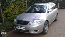 Clean Toyota fielder with its original colour