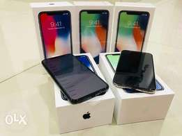 Brand new i phone x 257GB silver