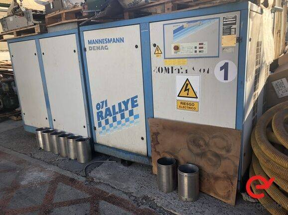 Demag Compresor Mannesmann  AG 4100 compressor for sale by auction
