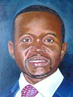 Potrait Painting oil on Canvas Muthaiga - image 1