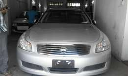 2010 nissan skyline 250gt silver 2 units available on sale