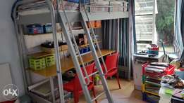 Study Bunk Bed With Desk