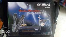 Original Yamaha Wireless Receiver With Two Dedicated Microphones