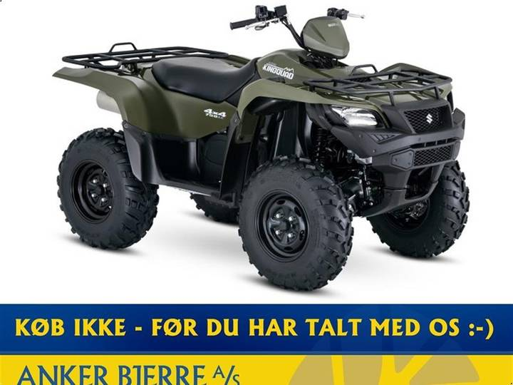 Suzuki LT-A750XP LEVERES I GRØN ELLER RØD - 2019