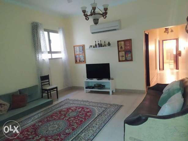 2 bedrooms flat - Semi & Fully furnished - Exclusive - 2 balconies الحد -  1