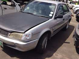 Toyota Corolla AE110 stripping for spares