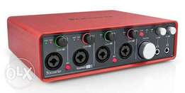 Scarlet 18i8 first generation sound card