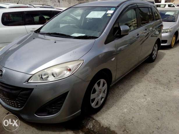 Mazda premacy new shape new plate number silver color fresh import Mombasa Island - image 5