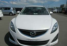 Just arrived pearl white Atenza mazda