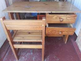 BARGAIN - Computer desk and table and chairs - URGENT SALE