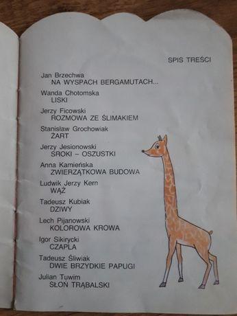 Książka Wiersze O Zwierzętach Chrzanów Olxpl