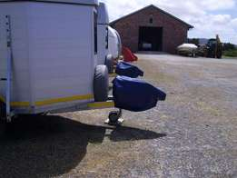 Coupler covers for horse boxes