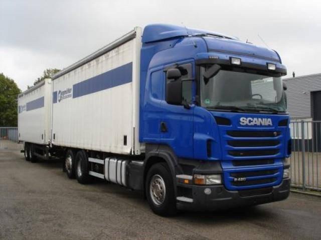 Scania R420 6X2 SCHUIZEILEN COMBI RETARDER - 2010