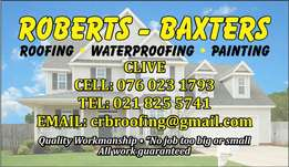 Roberts baxters roofing painting & waterproofing free quotation