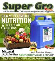 Buy 100 Gallons of Super Gro to Support Farmers