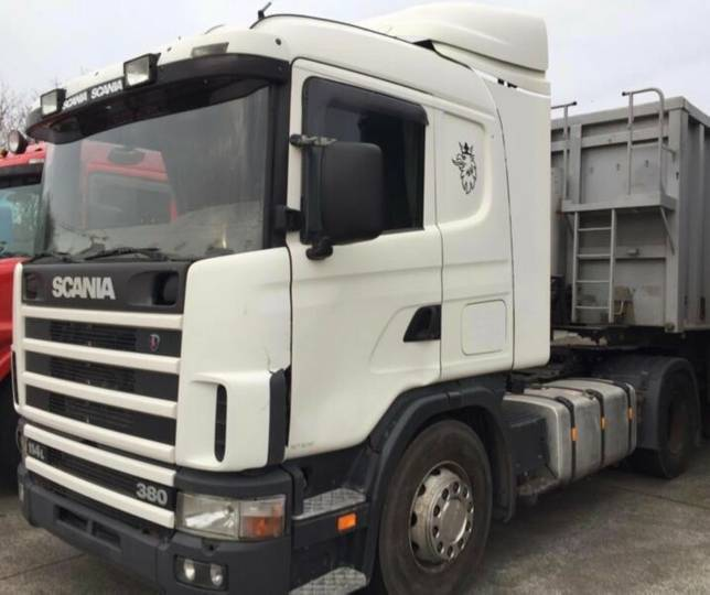 Scania 114 380 INTARDER*BELGISCH TRUCK*MANUAL* - 2003