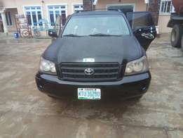 Newly landed Toyota Highlander 2004 model