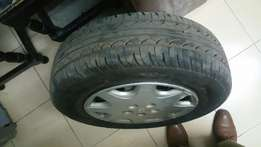 Tyres 1 month old 185/65/14