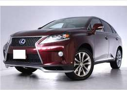 Lexus rx 450H, wine red New model 2010, finance terms accepted